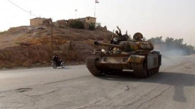 """الجيش السوري """"يحرر"""" قرية أم شعيفة من القوات التركية"""