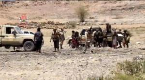 """بإسناد من قوات العمالقة.. قتلى وجرحى حوثيون في هجوم لمقاومة آل حميقان"""" بالبيضاء"""