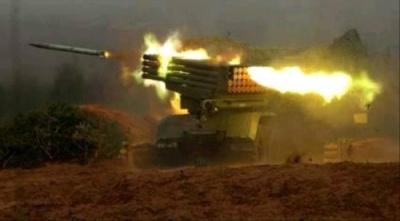 عــاجل.. في عملية نوعية خلفت عشرات القتلى والجرحى.. صواريخ القوات الجنوبية تدك أكبر تجمع #حوثي شمال #الضالع
