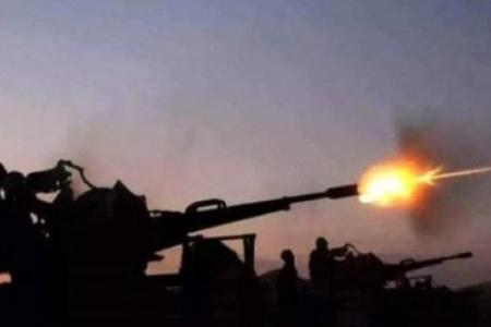 مصدر عسكري في اللواء 30 مدرع:تمَّ صدّ أكبر هجوم عسكريّ لمليشيا #الحوثي على محيط مدينة الفاخر