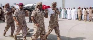 الامارات تعلن استشهاد أحد جنودها ضمن عمليتي عاصفة الحزم والامل