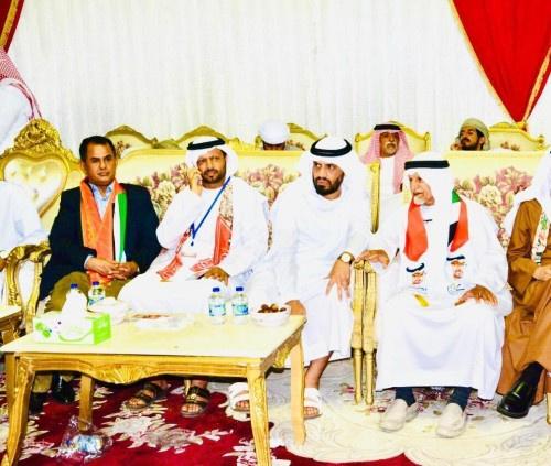 احتفالات جنوبية بمناسبة عيد الإمارات الوطني الـ(48)