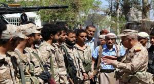 """اشتباكات داخل صفوف مليشيا """"الإخوان"""" ب#تعز تُخلف قتلى وجرحى"""