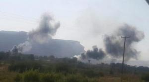 """بطائرات """" الهيلوكبتر"""".. مليشيا المنطقة الاولى تقصف قبائل """" ال حريز"""" وترتكب مجزرة دموية"""