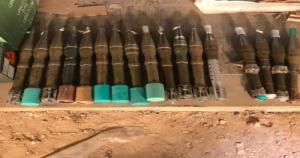 ضبط كمية كبيرة من الأسلحة والصواريخ المتطورة في المهرة (صور)