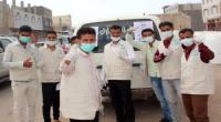 اتحاد طلاب ردفان بالعاصمة عدن يعزز الوعي المجتمعي في مواجهة خطر كورونا