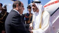 محمد بن زايد والسيسي يناقشان القضايا الإقليمية