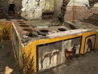 العثور على مطعم في المدينة البائدة.. ومأكولات عمرها 2000 سنة