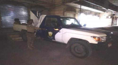 انتشار أمني في مديريات العاصمة عدن