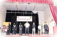 الدائرة الثقافية بالانتقالي تنظم حفلاً ثقافياً وتعليمياً على خشبة مسرح الفقيد رائد طه بالعاصمة عدن