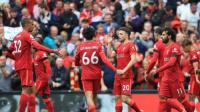 ليفربول يهزم بيرنلي بثنائية