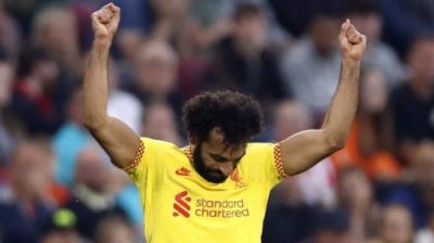 محمد صلاح يسجل هدفا تاريخيا في الدوري الإنجليزي الممتاز
