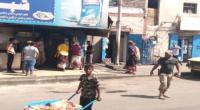 عدن.. حملة لإزالة العوائق والتعديات على الشوارع العامة بالمعلا